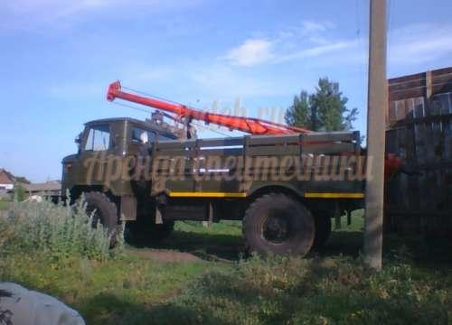 Ямобур БКМ-302Б ГАЗ-66