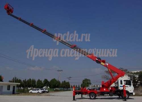 Автовышка от 7 метров до 52 метра